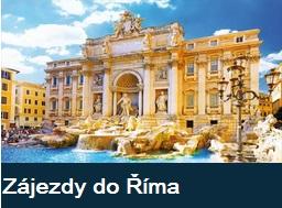 Nejlepší poznávací zájezdy  do Říma