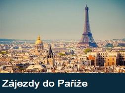 Nejlepší poznávací zájezdy do Paříže a Francie